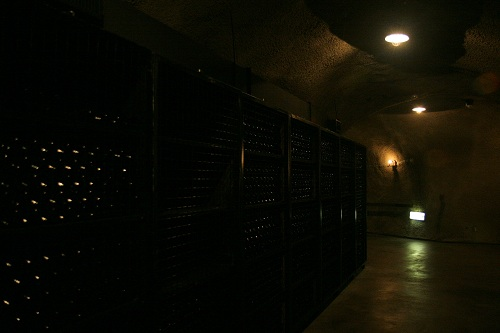 登美の丘ワイナリーワイン貯蔵