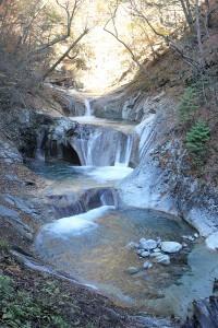 西沢渓谷七ツ釜五段の滝