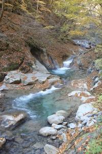 西沢渓谷途中の風景2
