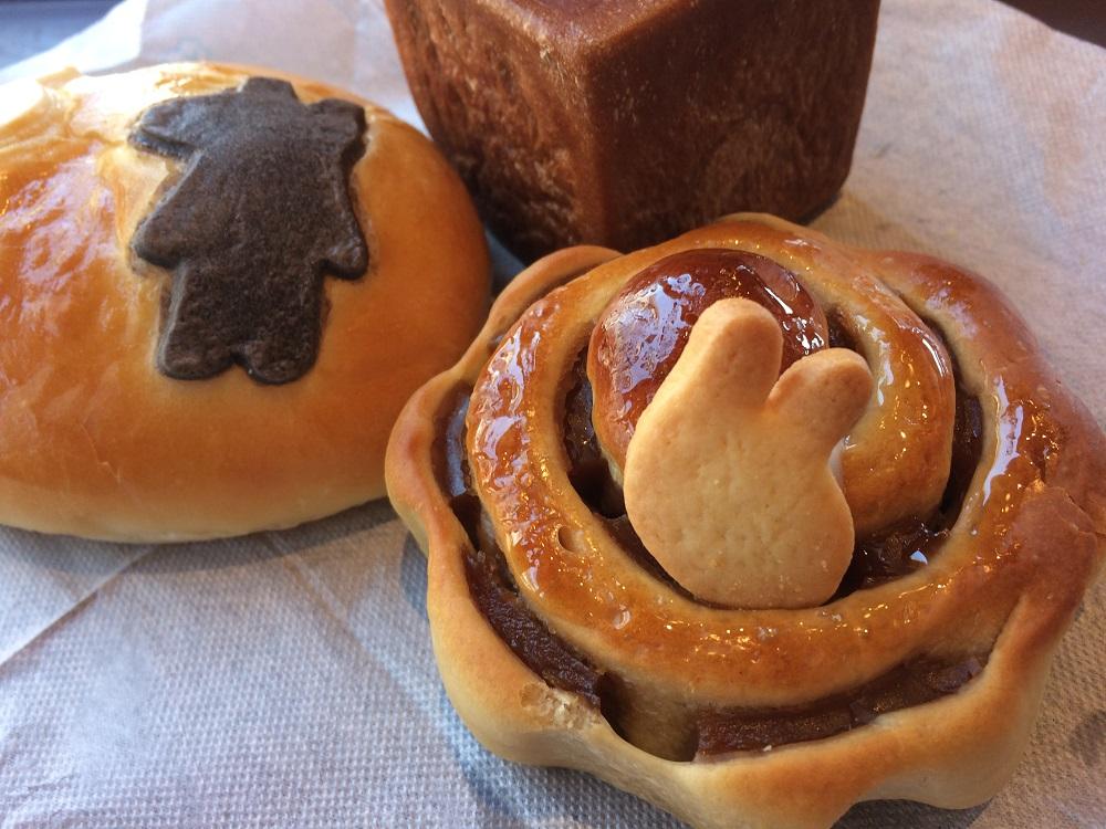 リサとガスパールタウンのパン