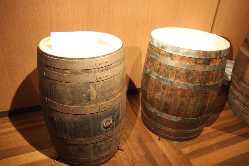 ウイスキー貯蔵樽の違い説明