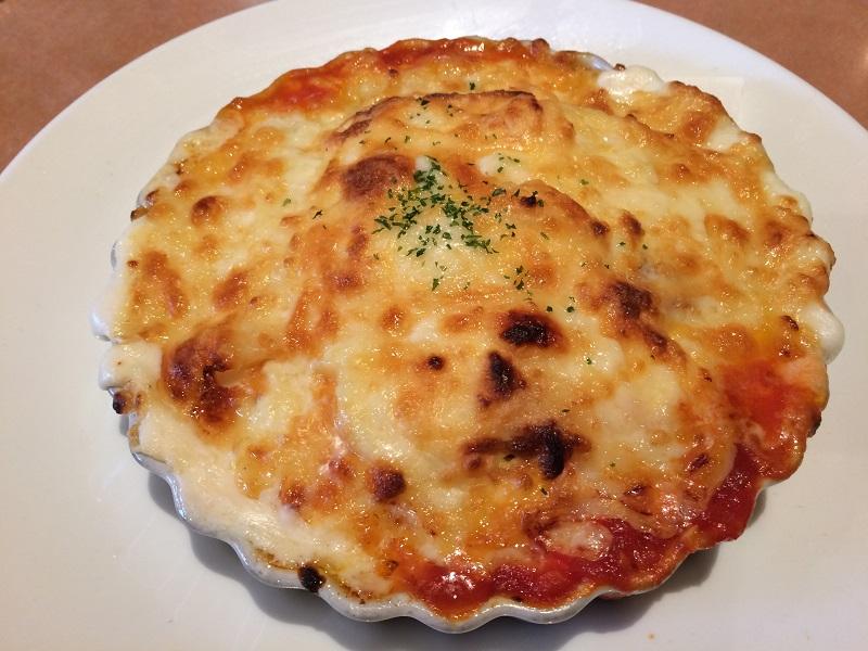 山梨市の洋食屋ジンベエのチーズドリア