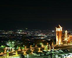 恋人の聖地周辺からの夜景