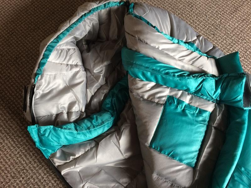 コールマン冬用寝袋マミータイプ