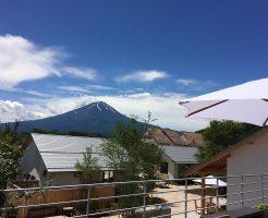 富士大石ハナテラスからの富士山
