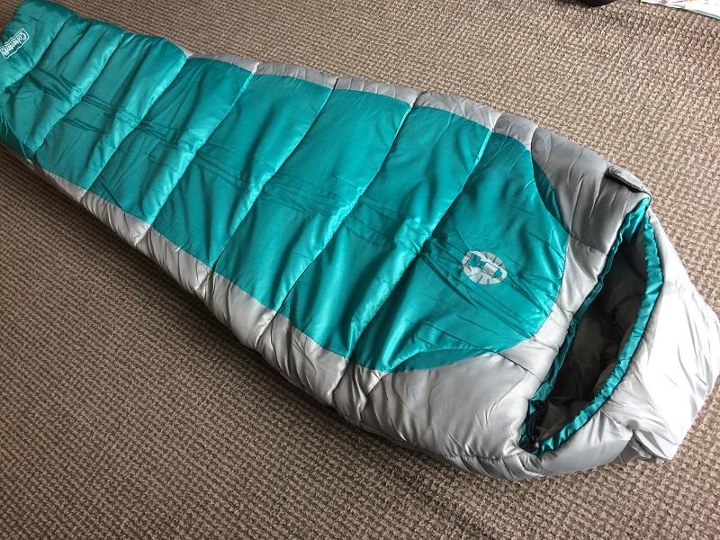 コールマンの冬用寝袋を購入しました!